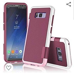 Samsung Galaxy S8+ wallet case NEW